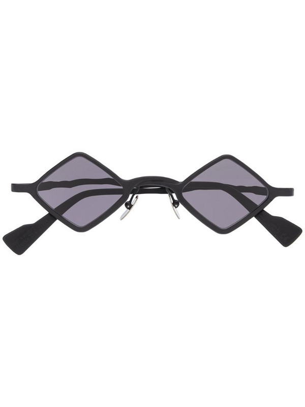 Kuboraum square frame sunglasses in black