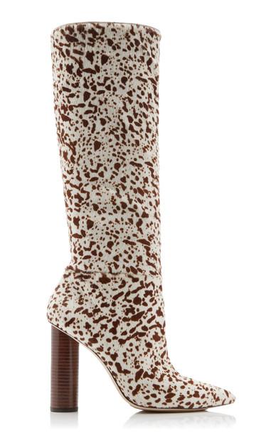 Ulla Johnson Jerri Spotted Boots Size: 39 in black