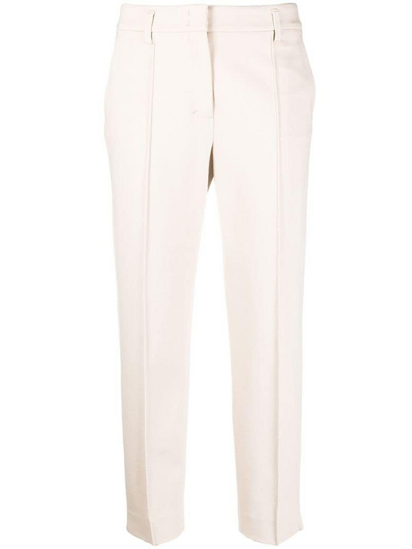 Dorothee Schumacher Emotional Essence cropped trousers in neutrals
