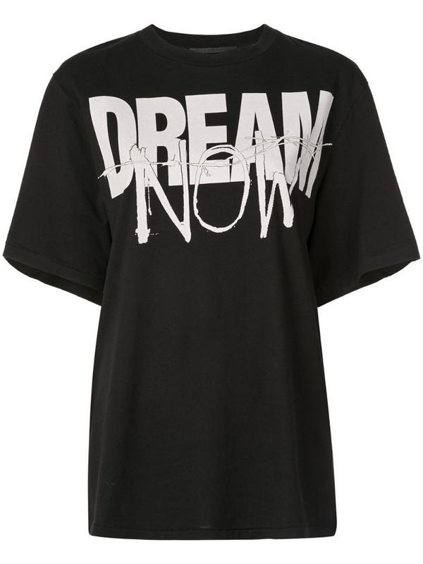 Haider Ackermann 'Dream now' T-shirt in black