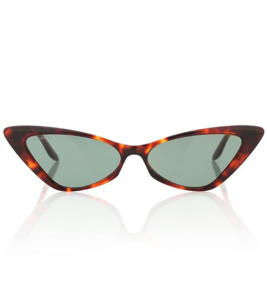Gucci Cat-eye sunglasses in brown
