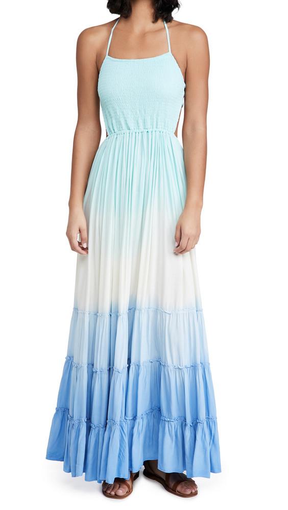 TIARE HAWAII Naia Dress in blue
