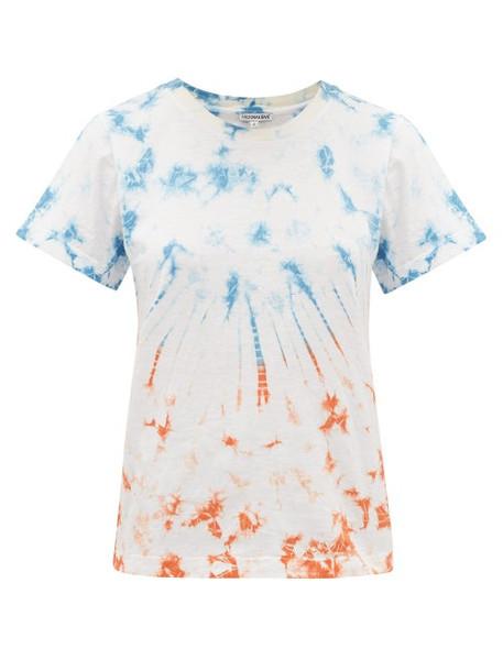 Arizona Love - Ally Tie-dyed Cotton T-shirt - Womens - Blue Print