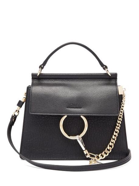 Chloé Chloé - Faye Small Grained-leather Cross-body Bag - Womens - Black