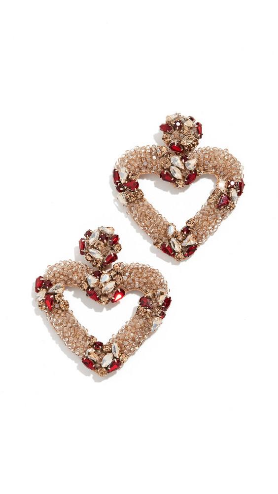 Deepa Gurnani Juliette Earrings in gold