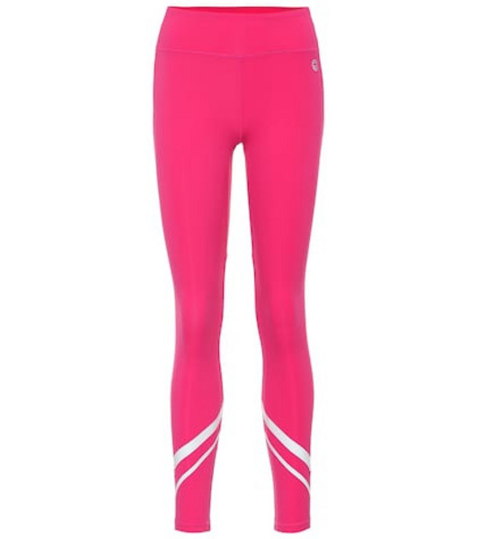 Tory Sport Chevron leggings in pink