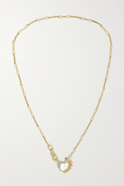 Pascale Monvoisin - Gabin N°4 9-karat Gold Multi-stone Necklace
