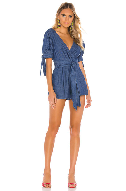 C/MEO Kind To You Romper in blue