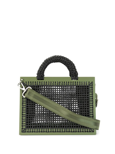 0711 XL St. Barts tote in green