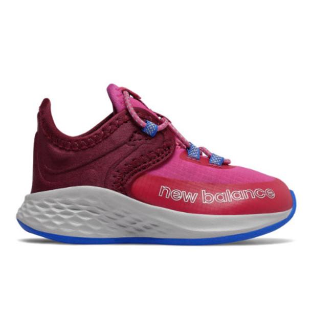 New Balance Fresh Foam Roav Trail Kids' Shoes - Pink/Red/Blue (IDTROPC)