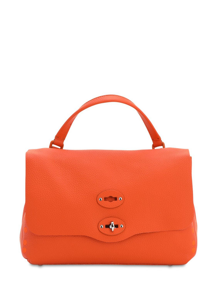 ZANELLATO Postina Pura Leather Top Handle Bag