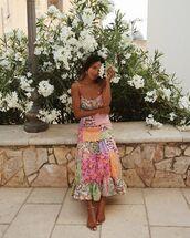 dress,midi dress,sleeveless dress,floral dress