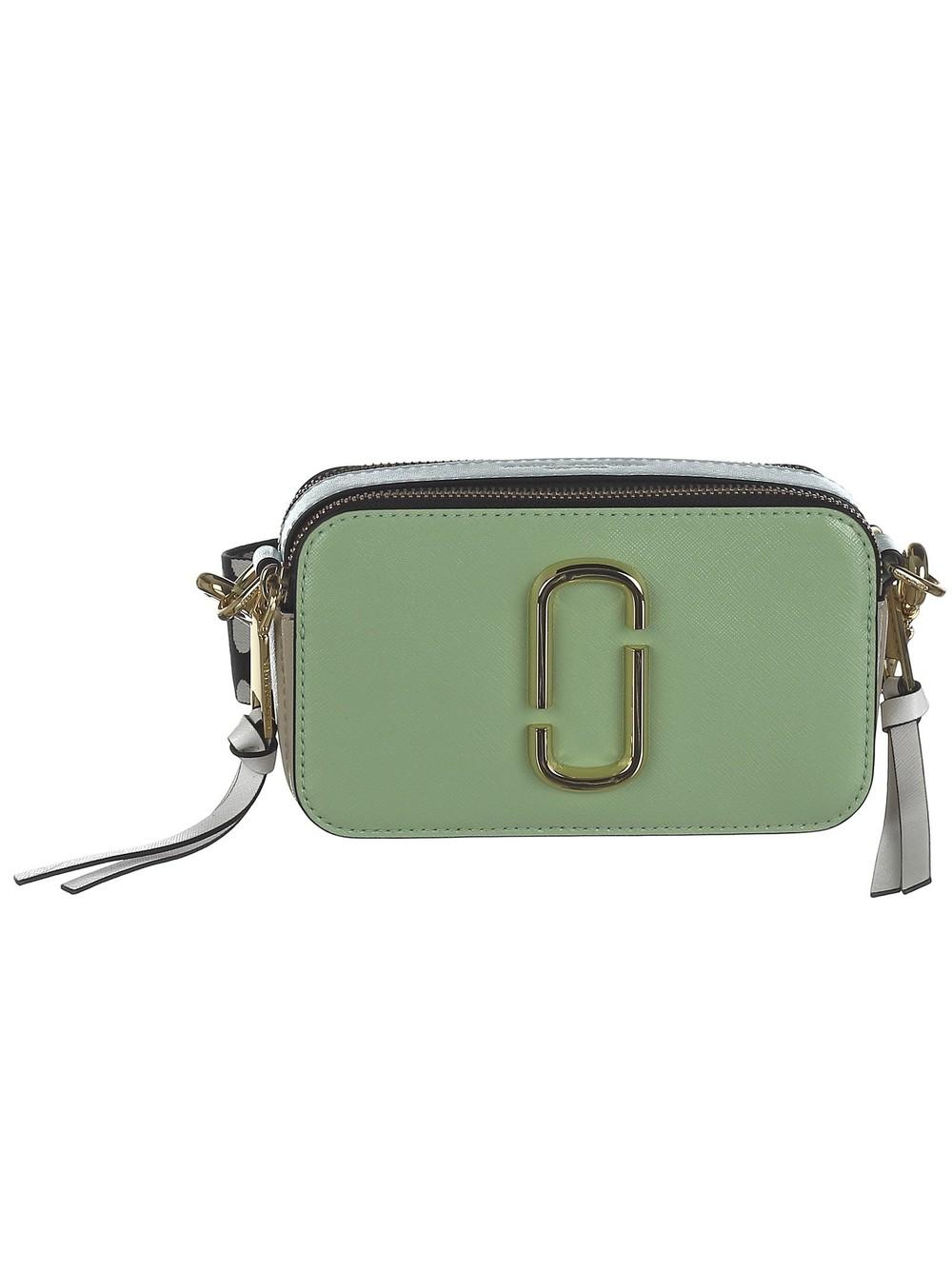 Marc Jacobs Snapshot Shoulder Bag in mint / multi