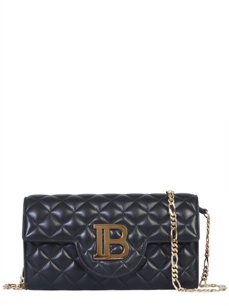 Balmain B-wallet Shoulder Bag in nero