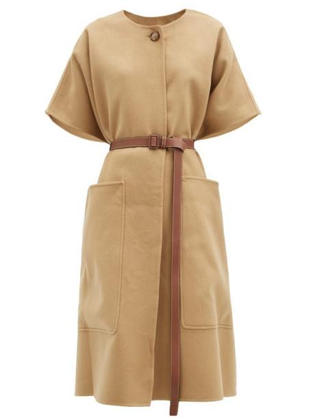 Burberry - Waxham Belted Cashmere Poncho - Womens - Beige