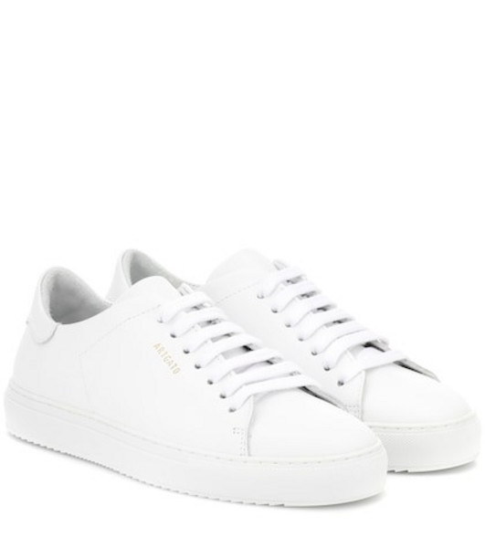 Axel Arigato Clean 90 leather sneakers in white