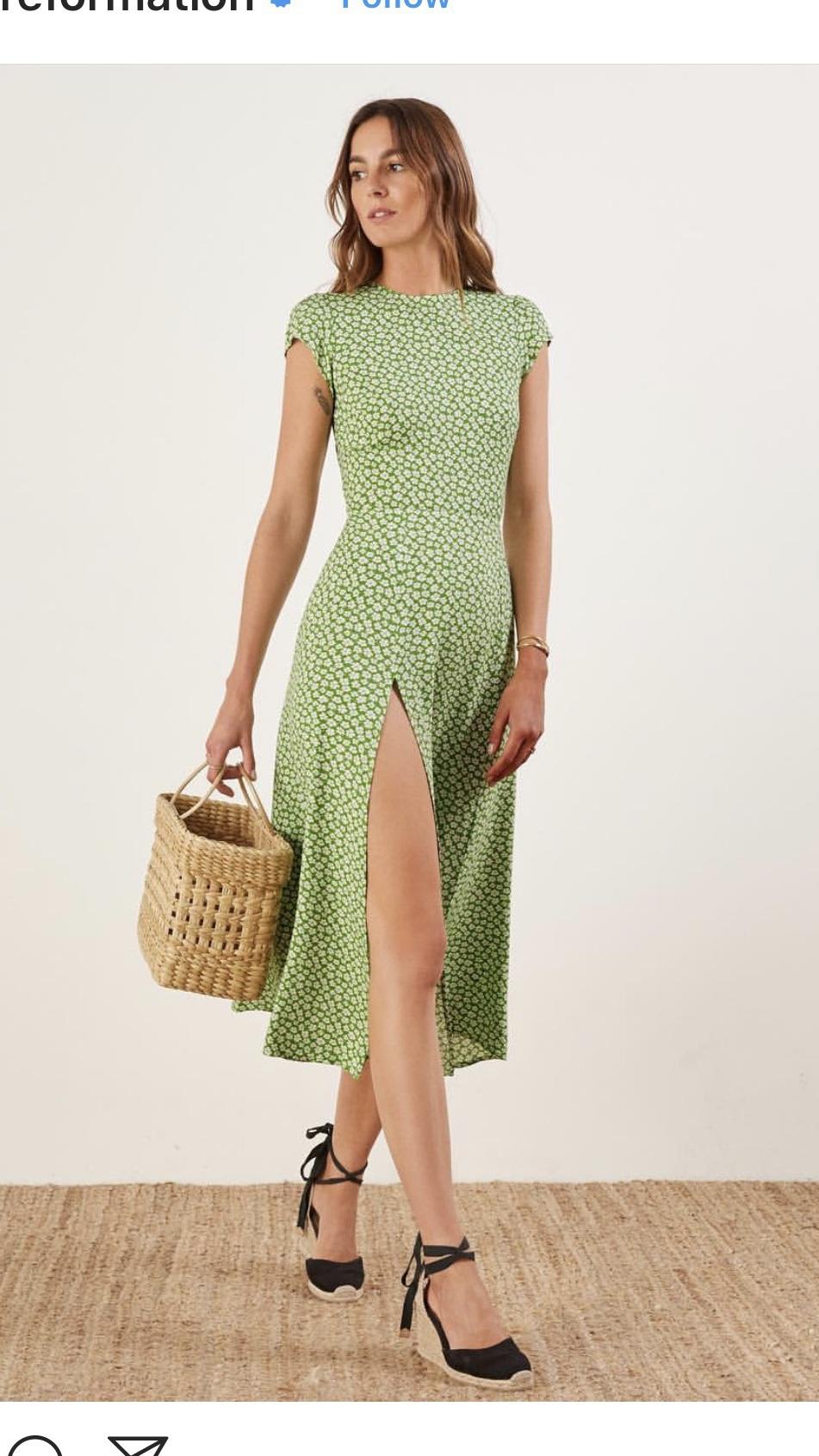 dress maxi dress green summer wedding clothes pattern