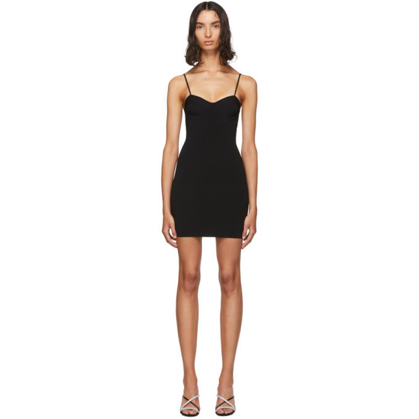 alexanderwang.t Black Bra Cup Dress
