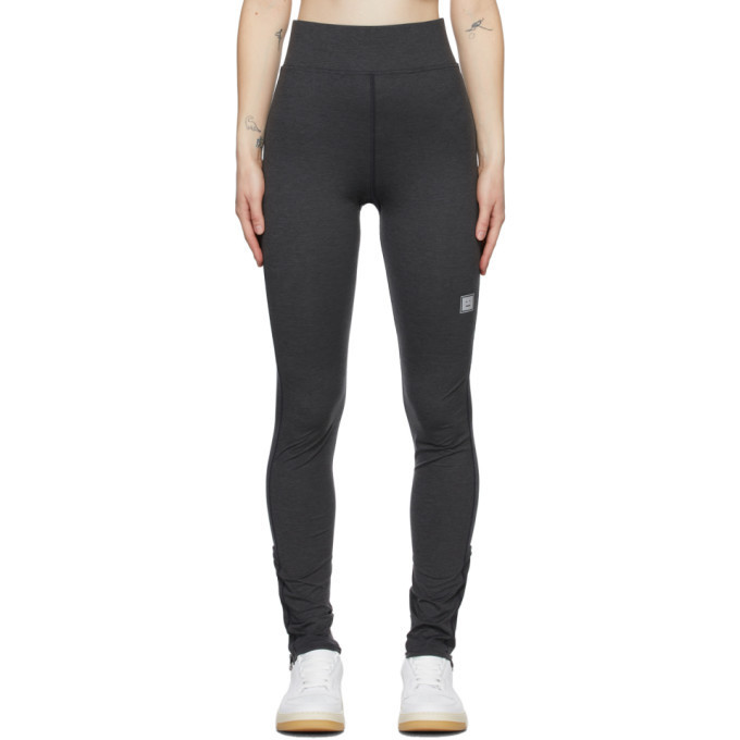 Acne Studios Grey Running Leggings in black