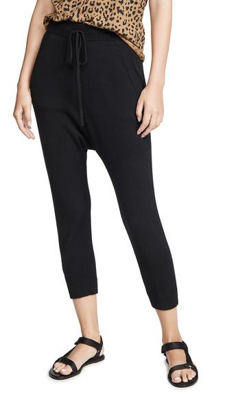 Nili Lotan Paris Cashmere Sweatpants in black