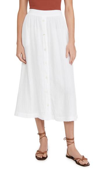 XIRENA Teagan Skirt in white