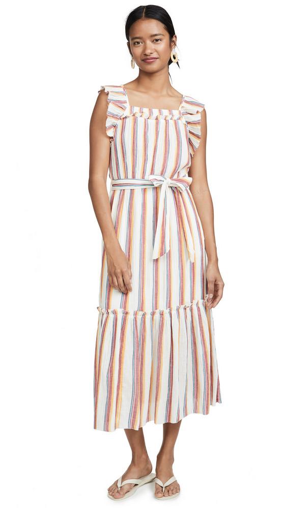 Saylor Goldia Dress in multi