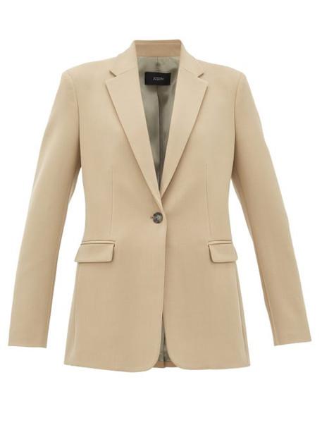 Joseph - New Laurent Wool-blend Blazer - Womens - Beige