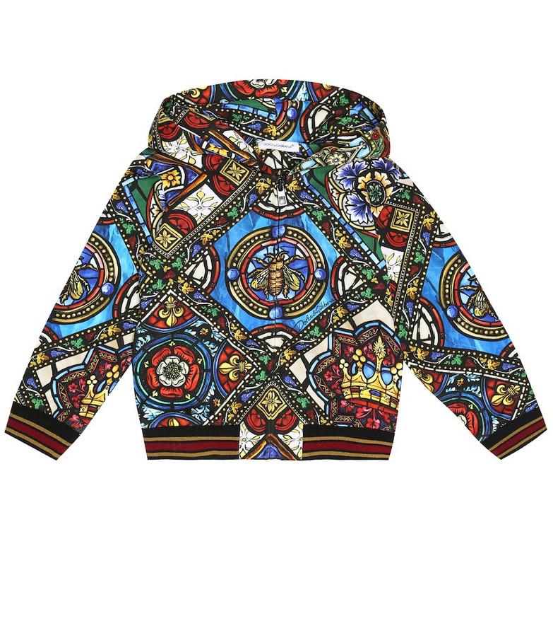 Dolce & Gabbana Kids Baby cotton-jersey hoodie