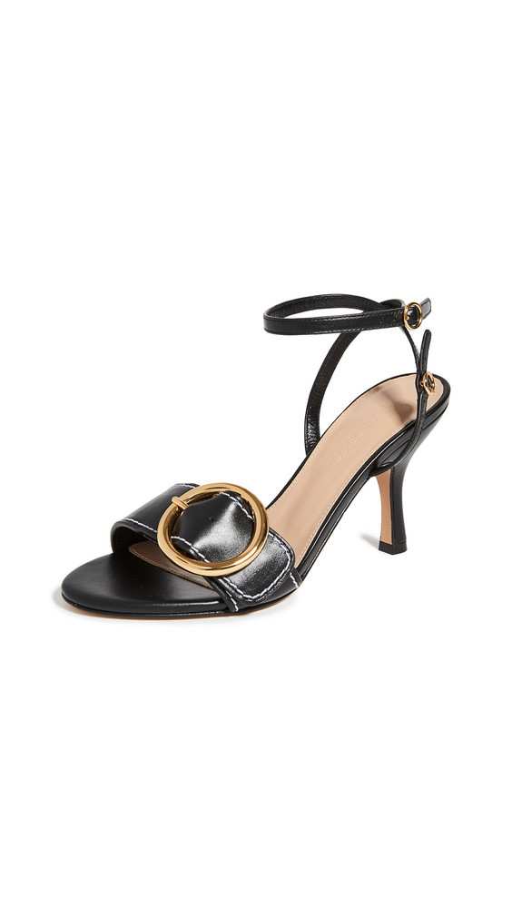 JW Anderson Buckled High Sandals in black