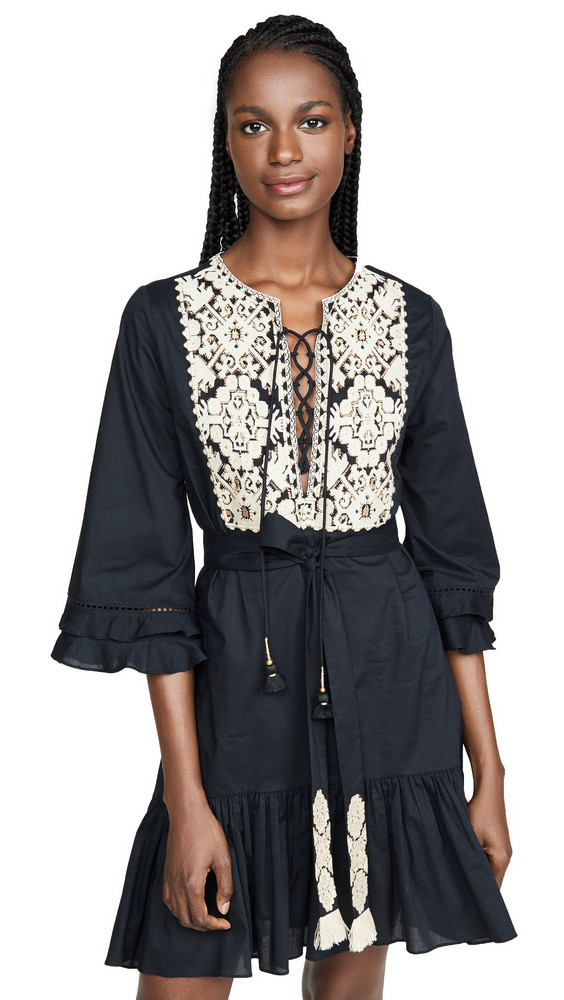 Figue Leona Dress in black