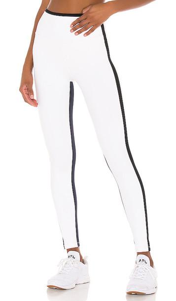 Splits59 High Waist 7/8 Legging in White