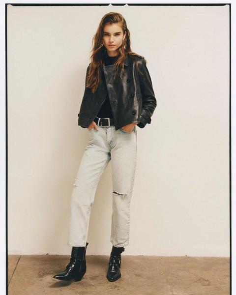 shoes jeans jacket