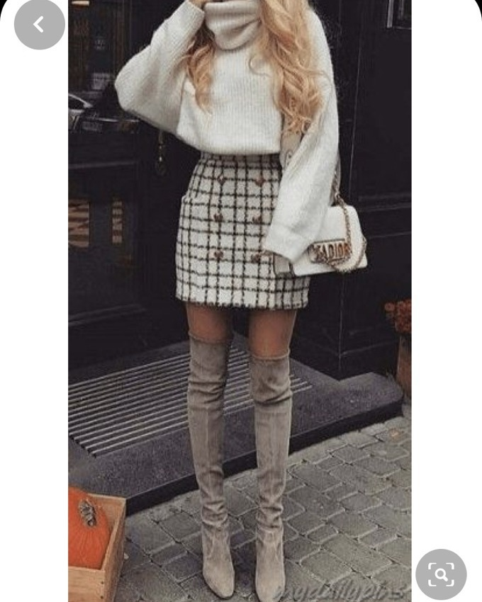 shoes cream knee high boots beige girl outfit
