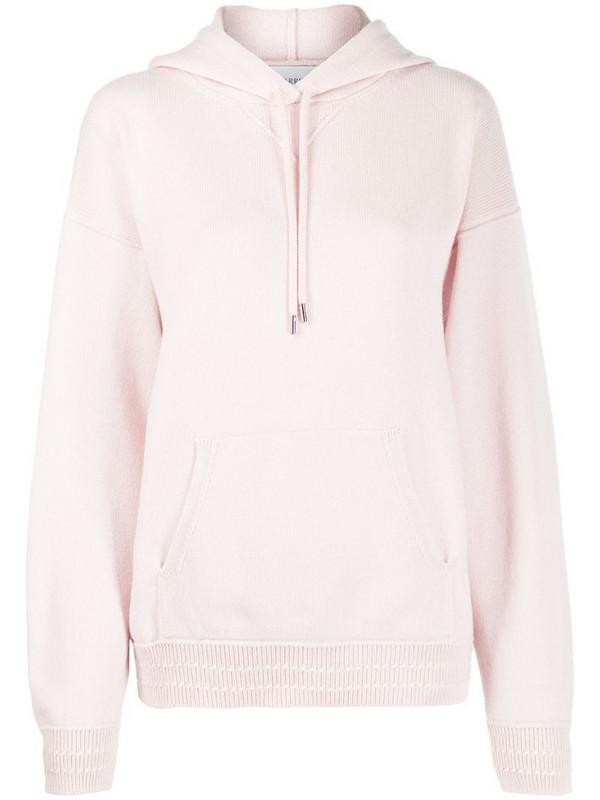 Barrie colour block hoodie in pink