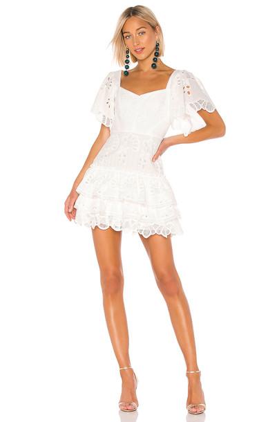 Alexis Afonsa Dress in white