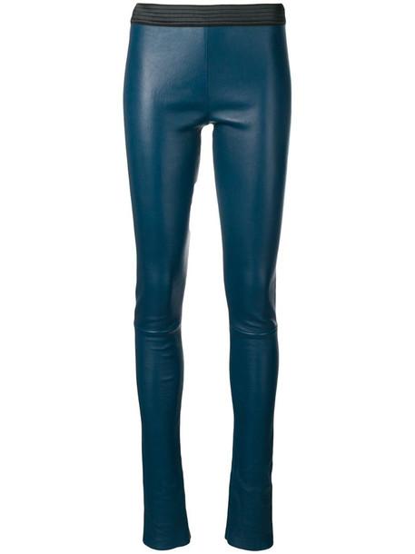 Drome leggings-style skinny trousers in blue