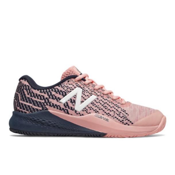 New Balance 996v3 Women's Tennis Shoes - Pink/Navy (WCH996V3)