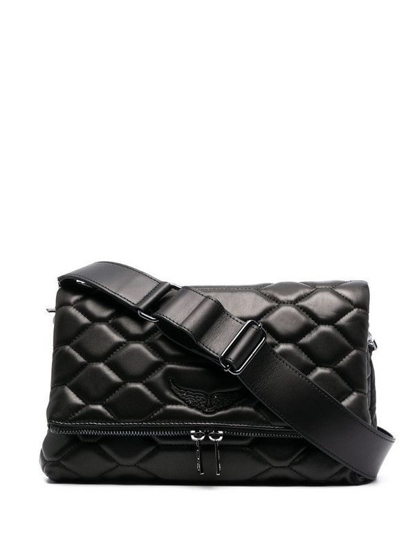 Zadig&Voltaire XL Rocky scale bag in black