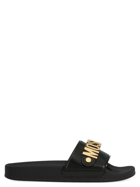 Moschino Shoes in black