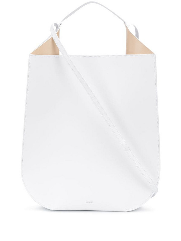 REE PROJECTS Helene shoulder bag in white