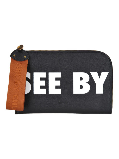 See by Chloé See By Chloe' Joris Large Pouch in black