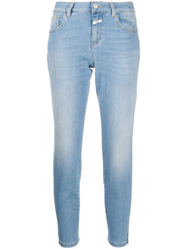 Closed slim faded jeans in blue