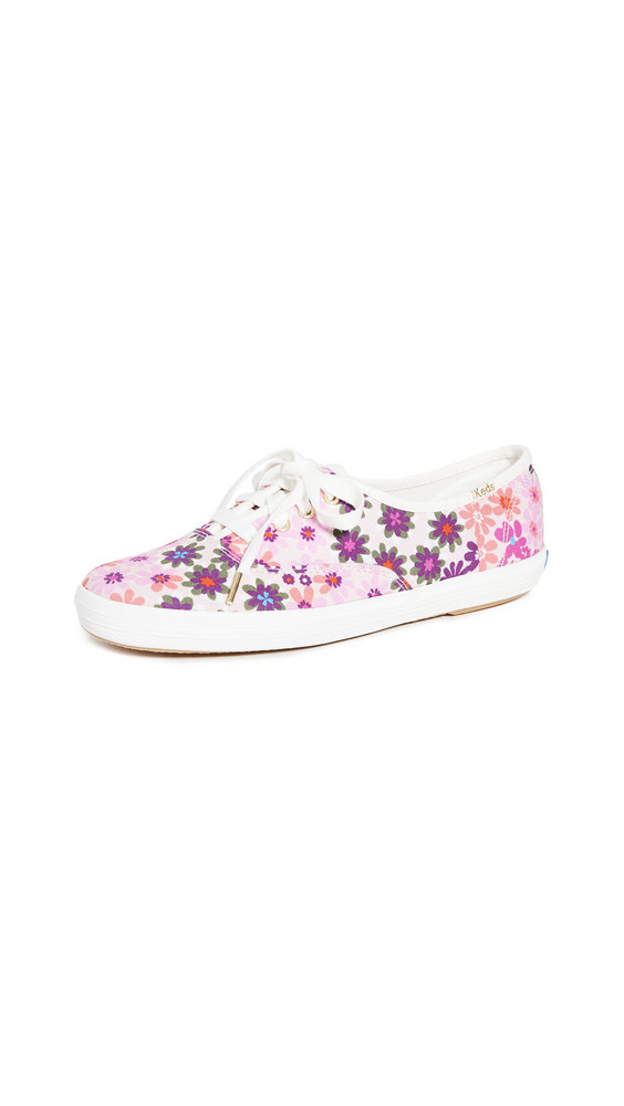 Keds Champion Pacific Sneakers in pink
