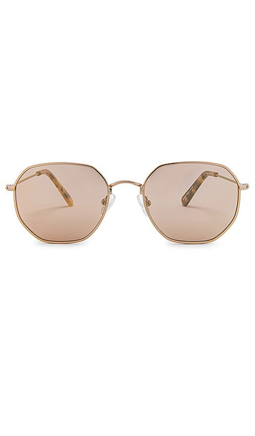 my my my Hayes Sunglasses in Metallic Gold