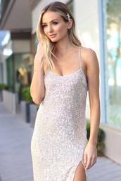 dress,lauren bushnell,celebrity,sequins,sequin dress,sparkly dress
