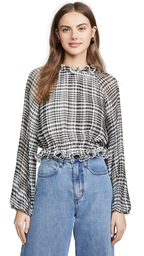 C/Meo Collective Stealing Sunshine Top in black
