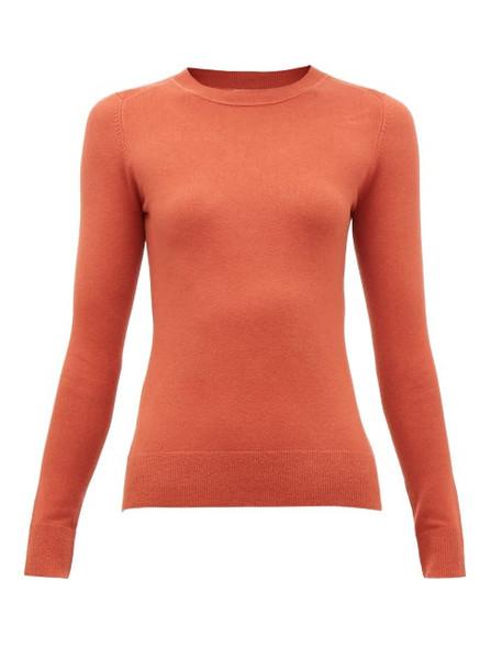 Joostricot - Cotton-blend Crewneck Sweater - Womens - Brown