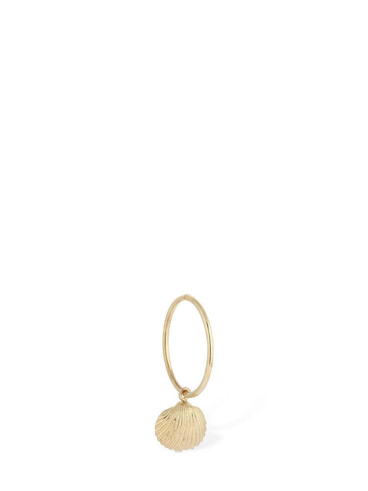 Lil Hoop Small Cher Mono Earring in gold