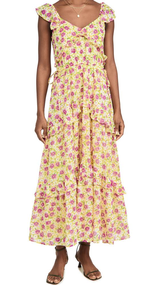 Banjanan Erin Dress in yellow