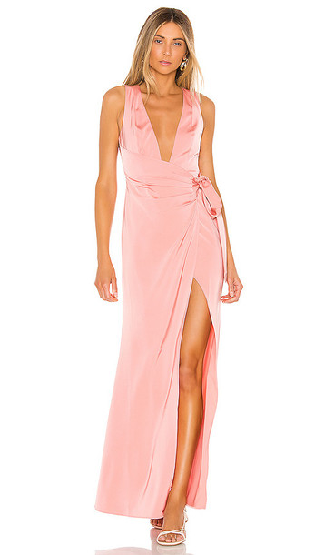 Lovers + Friends Lovers + Friends Chichira Gown in Pink